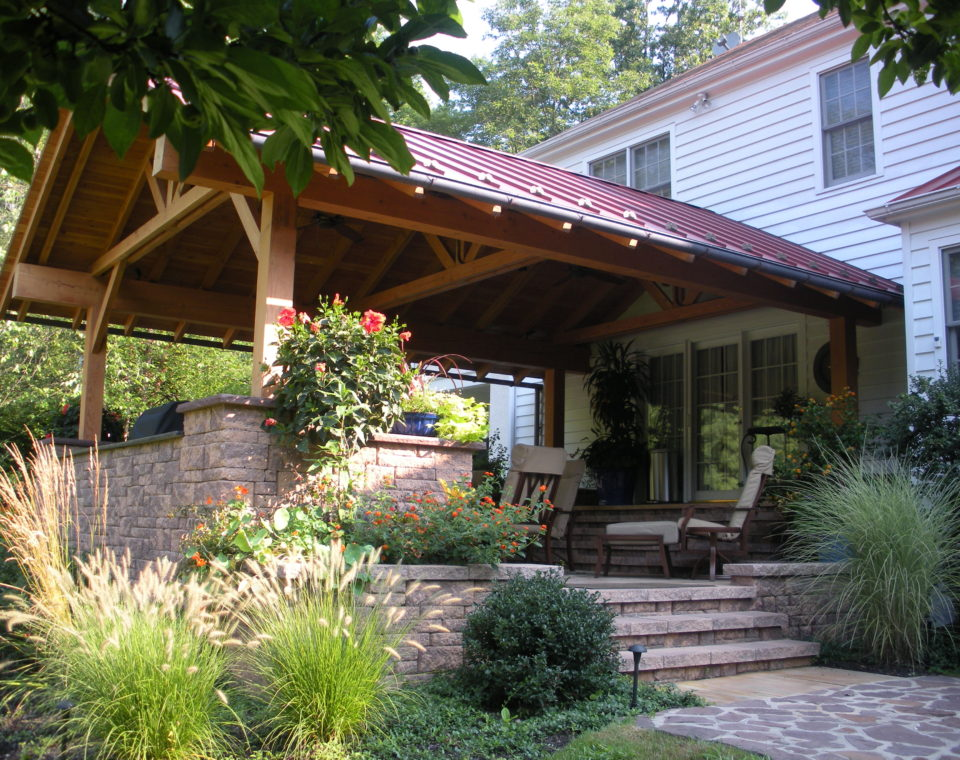 Raised Porch Addition